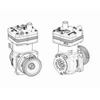 Compresor De Aire // Mercedez Benz Oem: A9061306615 -  Atego 1726/1729/2426e/2429 -  Atron 2324/2729 - Axor 1933