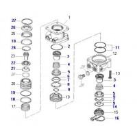 Jue. De Rep. Compresor  Para  Valvula N. 461 315 008 0/ 040 0/ 057 0