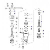 Reparacion  F/ Remolque 4617040350 Mercedes Benz 1114/  Fiat 190 - 210