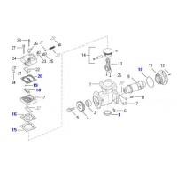 Reparación Compresor Juntas Y Láminas - Sutituye A 884 503 136