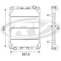 Radiador // Mercedes -benz Omnibus O 400 Plataforma  Oem  - 664.501.91.01