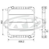 Radiador // Mercedes Benz 1215-1620 (linea Vieja)  Oem - 384.501.72.01