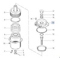 Cuerpo Intermedio  20/24 // Cilindro Combinado Tristop