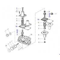 Jue. De Rep. Válvula Protectora 4 Circuitos // 934 702 387 0 Scania (1 356 635) F113 Hl- K 113 Cl/ 113 Tl- L 113/ 113 Cl/ 94