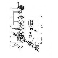 Biela Completa Para Compresor K007254