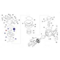 Entretapa - Sustituye A Ki88639 // Reparaci?n Para Compresor 88 Mm  Motor Om 355