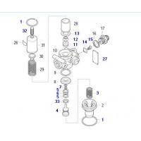 Juego De Reparacion // Completo De Regulador De Presion Modelo Nuevo Y Dr35