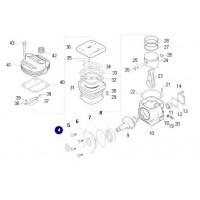 Juego Tapa , Ruleman, O´ring Y Bulones // Reparacion Para Compresor 88 Mm Reforzado Con Ruleman