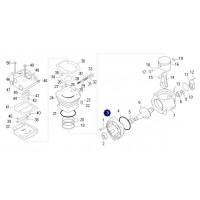 Soporte Frontal // Para Compresor 88 Mm Para Motor Mwm 6.1 Ford/vw
