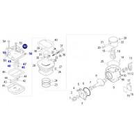 Tapa Refrigeradora // Para Compresor Perkins (gobernado) 88 Mm - Compresor Para Motor Mwm 6.1/6.17 Ford/vw -  Compresor Para