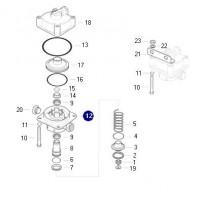 Carcaza Interior Para Valvula Relay Ii15117