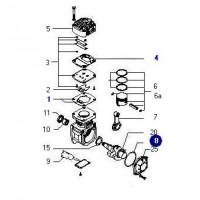 Juego Juntas Para Compresor Monocilindrico Kacx68d 65mm