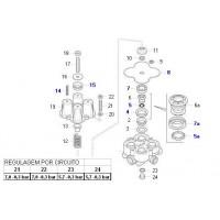 Juego De Reparacion Valvula 4 Circuitos // Ii15588 / Ii18172 / Ii35202
