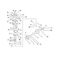 Juego De Reparacion //  Reparacion Para Compresor Tipo Lk39 Para Volkswagen 17.204ot