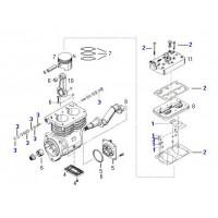 Juego De Reparacion Tapa // Para Compresor Scania Biilindrico Lp 4941