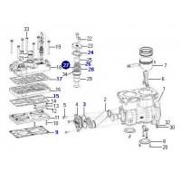 Juego De Reparacion Tapa Compresor K024410n05 - Sustituye Al K018809 // Reparacion Compresor Scania Lk4951 - 720 Cc