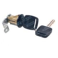 Cilindro De La Puerta Con Llave Negro // Ford Camiones Serie F Oem - Bd8m.622050.a / Bd8m.622051.a