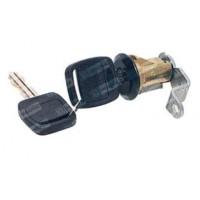 Cilindro De La Puerta Con Llave Negro // Ford Camiones Serie F Oem- Bd8m.622050.a / Bd8m.622051.a