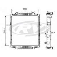 Radiador // Volkswagen Constellation 17.250e / 24.250e - Oem: 2t2121253ac