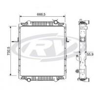 Radiador // Volkswagen Constellation 26.260e / 31.260e - Oem: 2u2121253j