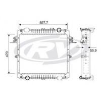 Radiador // Volkswagen Delivery 5.150/ 8.160/ 9.160/ 10.160 - Oem: 2p0121253a