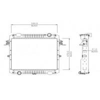 Radiador // Volkswagen Delivery - Oem: 2po121251b