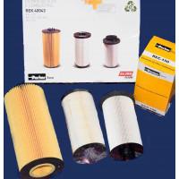 Kit Separador De Agua + F. Combustible Secundario + F. Aceite (re-160j-10m-aqii+rec-150+rel-100) //mercedes Benz Axor  01/201