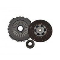 Kit De Embrague D365 Eaton  (placa/ Disco/ Placa Intermedia/ Disco) // Ford Cargo 1730/1831/2631- Vw 17300/17310/18310/26310